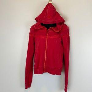 Red Stitched Lululemon Hoodie